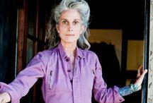 silver hair ageing gracefully