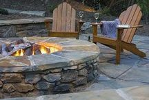 DIY Fire Pits / Stay warm and build a fire pit in your backyard.