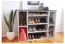 Storage + Organization / DIY shelving, DIY closets, DIY storage solutions for your space.