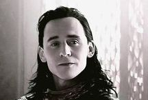 Loki / Tom Hiddleston / The most sensitive and sexy villain in Marvel movies. Interpreted by the attractive Tom Hiddleston. :p