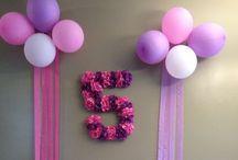 Tiahna 5th / Ideas for Tiahna's 5th Birthday