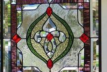 Stained glasses - Witraże. / by Teri P.