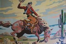 Giddy Up ~ Cowboy / ....and Cowgirl  ~big & small~ / by Susan Broyles