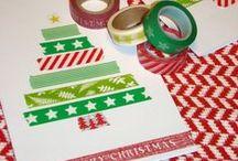 Inspiração Cartão de Natal / Inspiração para confecção de seus próprios cartões de Natal! www.memoriasretalhos.blogspot.com
