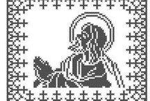 broderie motive religioase / broderii motive religioase, tip punct in cruce, pentru masini de brodat computerizate