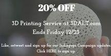 3DALT / 3D Printing at ALT LLC  https://3DALT.com
