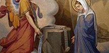 J1  L'ANNONCIATION / 1er mystère joyeux du rosaire - Fruit du mystère: l'humilité