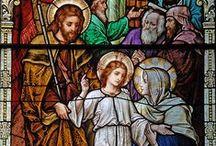 J5  LE RECOUVREMENT DE JESUS AU TEMPLE / 5ème mystère joyeux du Rosaire -  Fruit du mystère: la recherche de Dieu