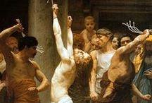 D2  LA FLAGELLATION / 2ème mystère douloureux du rosaire fruit du mystère: la mortification des sens