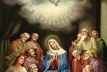 G3  LA PENTECOTE / 3ème mystère glorieux du Rosaire - Fruit du mystère: l'Esprit Saint