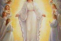 G4 L'ASSOMPTION DE LA TRES SAINTE VIERGE / 4ème mystère glorieux du Rosaire -  Fruit du mystère: la grâce d'une bonne mort/ le courage chrétien