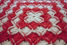 Christina's Wool Eater Afgan / Crocheted Afghan using the Wool Eater Pattern, made for my Granddaughter Danyelle for a graduation present. / by Christina-Tina Lee