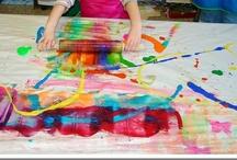 Manitas de pintura