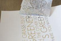 Typography/Calligraphy