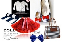 DOLLY in navy mood / Dress yourself in navy mood. Great DOLLY combination for you and your children. Captain, ready for the sail!