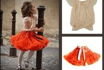 LITTLE GOLDFISH / magical Little Goldfish dollyskirt fresh orange Little Goldfish pettiskirt
