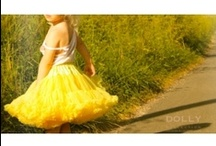 PRINCESS BELLE / sunny yellow Princess Belle pettiskirt