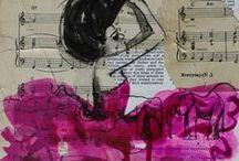 Journal ... Mixed media ... Sketchbook ...