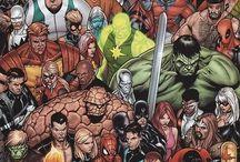 Superheroes and -villains / Marvel & DC Comics Mostly Loki