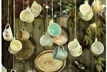 in the night garden / garden craft, design, birdhouse