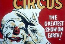 Vintage Circus Advertisements / Vintage Circus Advertisements , magicians, illusion,