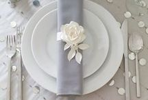 Table Setting / Check out these resources for tips and suggestions to perfect your table settings!