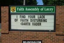 Church Signs / Funny Church Signs