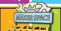 Maker Space Movement / Makers are creators, inventors, artists, explorers, innovators and engineers. The Maker Movement empowers through hands-on building and design, incorporating recycling materials, tools and creativity for amazing results. Students do more than learn in the Maker Ethos - they become practitioners of their own future. And it's FUN!