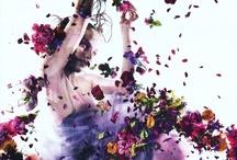 FLOWERS | FASHION / by ANIA ZAJĄC fashion blog