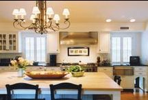 Wills Co. Kitchen Heaven / The latest in kitchen design.  Form meets function meets family!