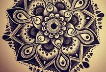 Mandalas & coloriages!