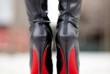 Louboutin shoes / I just love Louboutin. If I only had the money for one pare of boots.