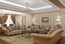Гостиные / Livingrooms / Проекты и фотографии гостиных по дизайну студии Finoarte