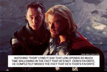 Thor and His Charming Psychopathic Little Brother