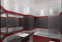 Ванные / Bathroms / Проекты и фотографии ванных и душевых комнат от Finoarte