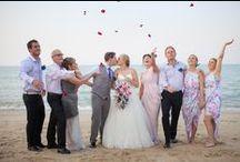 Samui Wedding of Jessica & Ofir / A fun couple who had their wedding at Miskawaan Villa Lotus   Photos by: Max Pinitpong Photography   Hair & Makeup by: Danny Lopez
