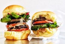 Vegan Burgers / Savory, hearty vegan burgers. No animal products required!