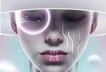 Cyberpunk. / Future, robots, fiction, powers.