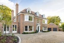 Case Study: Mumford & Wood - Kylemore House / Mumford & Wood has designed and manufactured windows & doors for Kylemore House. The house has been awarded winner of the 'Best Out of London Home' and runner-up of the 'Best Luxury Home' (2014 Evening Standard New Homes Awards) Mumford & Wood Conservation™ timber fenestration products are made in England from clear grade, sustainably sourced and engineered timber, Mumford & Wood design and manufacture bespoke sash and casement windows, French doorsets, special shapes, bi-fold and entrance doors