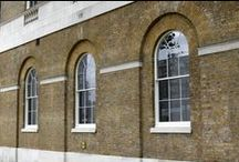 Historic Sash Windows / Our Historic Box Sash window is designed to replace original period windows often found in listed buildings or sensitive conservation areas where double glazing is not appropriate and the requirement to comply with building regulations are relaxed. The Historic Box Sash Window incorporates single glass which is glazed in the traditional way using putty and true glazing bars. A variety of glazing bar sizes and styles are available such as Gothic, Victorian Lambs Tongue and Queen Anne Ovolo.