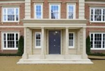 Entrance Doors / Our timber Entrance Doors are classically styled with wide timber sections creating the appearance and feel of traditional grand entrance doors.  Our Conservation™ Entrance Door is available in a wide range of styles and finishes with numerous glazing and panel options. So, whether you are looking for a traditional 6 panel Georgian front door, a grand Victorian front door, an oak planked cottage front door,  or a contemporary wooden front door, we can tailor to suit your taste.