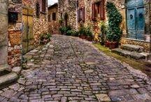 Utak, utcák, ösvények, sikátorok