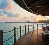 Amazing Bars and Restaurants / Restaurant interiors and designs from Club Med resorts.
