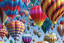 Balóny - balloons / jedného dňa poletím