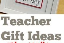 Mommy Sees You Teacher Gift Ideas / This board is full of DIY crafts for creative gifts for your favorite teacher!