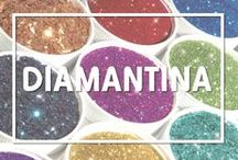 Diamantina / Muestra de los tipos de diamantinas que ofrece Selanusa - www.selanusa.com.mx