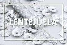 Lentejuela / Muestra de los tipos de lentejuela que ofrece Selanusa - www.selanusa.com.mx