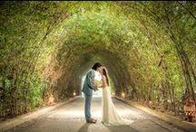 Samui Wedding of May & Jun / Beautiful floral setup for this wedding at Miskawaan Villa Lotus   Photography by: Eak Samui