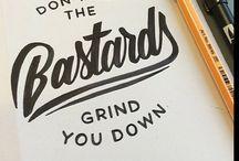 Typography /  beautifully designed typography