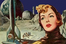 Worlds beyond / Virgil Finlay, Frank R. Paul and Sci-Fi Pulps / by stephan chaldjian